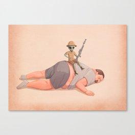 The Big Hunt Canvas Print