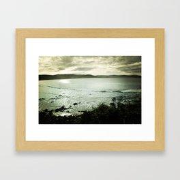 Moody Bay Framed Art Print