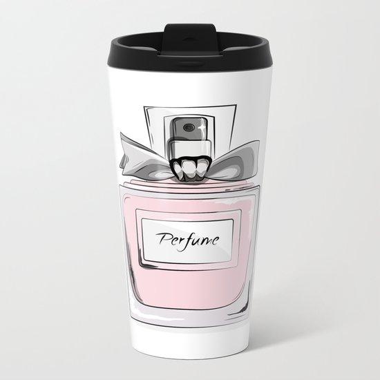 Sweet perfume Metal Travel Mug