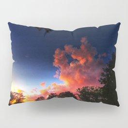 Deep Blue Sunset Pillow Sham