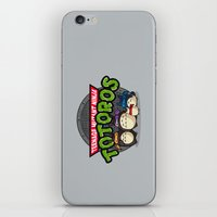 tmnt iPhone & iPod Skins featuring TMNT by fishbiscuit