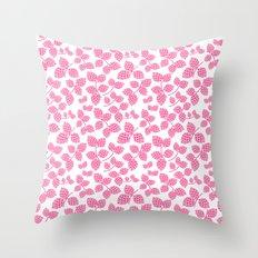 Modern Pinecone Throw Pillow