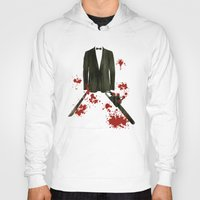 smoking Hoodies featuring Smoking kills! by Bojan Bundalo