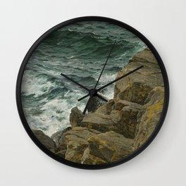 Bernd Lindholm - View of the Kattegat - Sacandinavian Fine Art Oil Wall Clock
