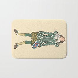 Outfit of Shakespeare Bath Mat
