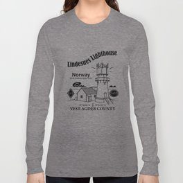 Lindesnes Lighthouse Long Sleeve T-shirt