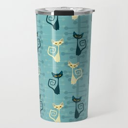 Atomic kitty Travel Mug