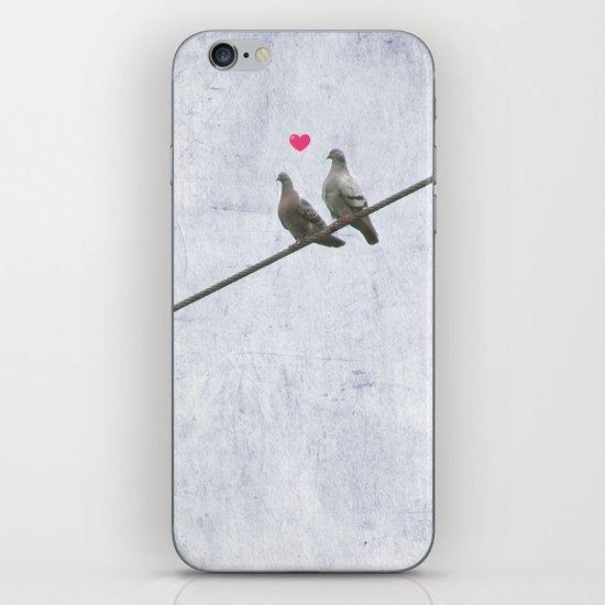 The Lovebirds iPhone & iPod Skin