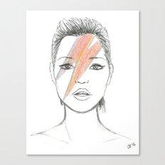 Moss X Bowie Canvas Print