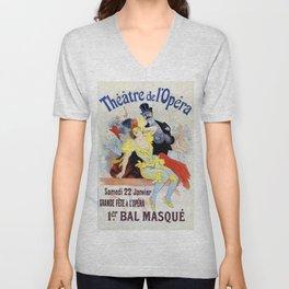 1897 Masquerade ball Paris Opera Unisex V-Neck