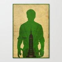 bioshock infinite Canvas Prints featuring Booker - Bioshock: Infinite Poster by Edward J. Moran II