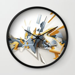 All directions Wall Clock