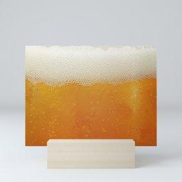 Beer Bubbles Mini Art Print