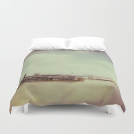 Mississippi River Duvet Cover