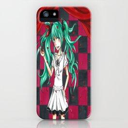Hatsune Miku World is Mine iPhone Case