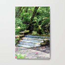 Creek Falls Metal Print