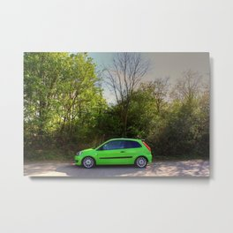 Nature's Green Metal Print