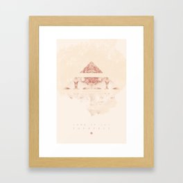 Look Inside Yourself Framed Art Print