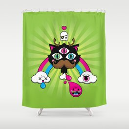 Reincarnation - Version 2 Shower Curtain