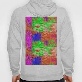 Colourful Abstract Texture Hoody