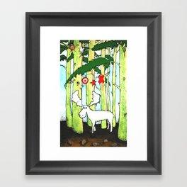 Moose In Washington Framed Art Print