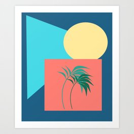 Shapes of the Palm Art Print