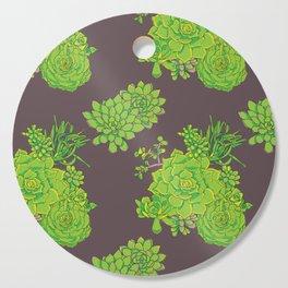Succulent Pattern Cutting Board