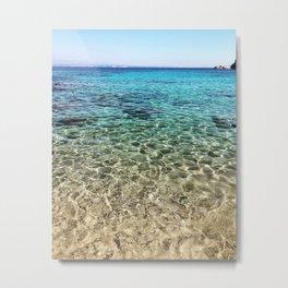 Beautiful Sea of Sardinia Metal Print