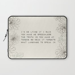 I'd be lying - R. Kaur Collection Laptop Sleeve