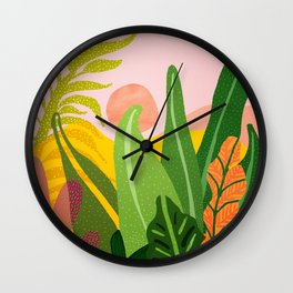 Jungle Morning Wall Clock
