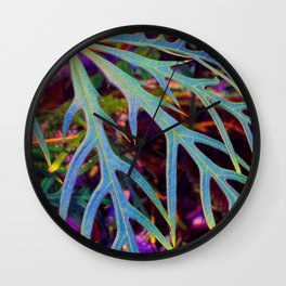 Found Colors Wall Clock