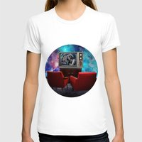 tv T-shirts featuring Television by Cs025