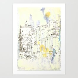 Nothing,my dear, endures Art Print