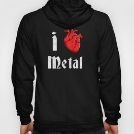 I Heart Metal Hoody