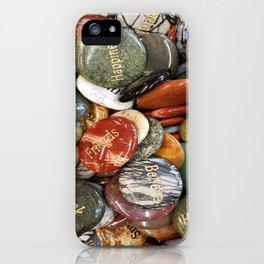 Inspiration Rocks iPhone Case