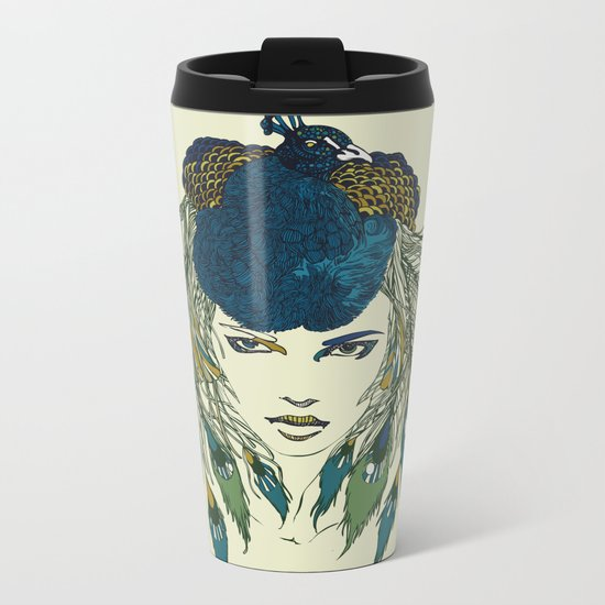 Let it be beautiful Metal Travel Mug
