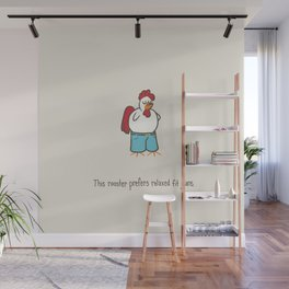 Relaxed Jeans Rooster Wall Mural