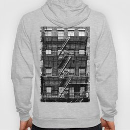 Fire escapes at noon Hoody