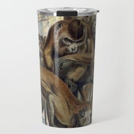 Macaques for Responsible Travel Travel Mug