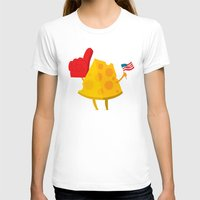 cheese T-shirts featuring cheese by alex eben meyer