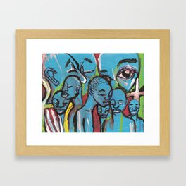 Watch Who You Let Rent Space In Your Head Framed Art Print