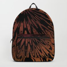 Native Tapestry in Burnt Umber Backpack