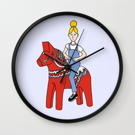 Dalecarlia Wall Clock