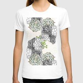 Succulent Study  T-shirt