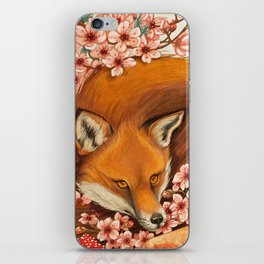 Red Fox - Totem iPhone Skin