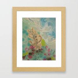 Surface Joy Framed Art Print
