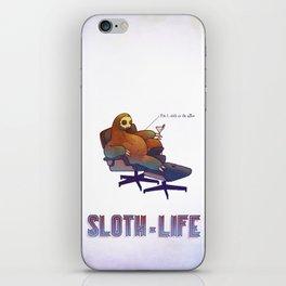 SLOTH LIFE fig. 1. iPhone Skin