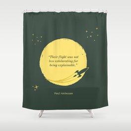 Exhilaration of the Explainable Shower Curtain