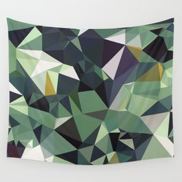 Martinique Low Poly Wall Tapestry
