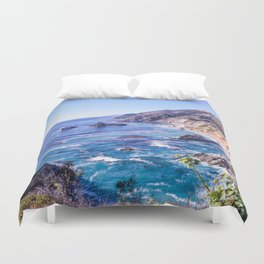 California Dreamin - Big Sur Duvet Cover